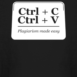 Plagiarism Made Easy - Kids' Long Sleeve T-Shirt