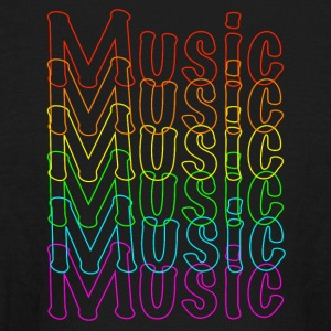 Neon Music - Kids' Long Sleeve T-Shirt