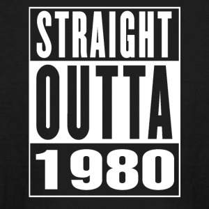 Straight Outa 1980 - Kids' Long Sleeve T-Shirt