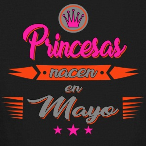Princesas nacen en mayo - Kids' Long Sleeve T-Shirt