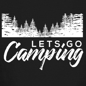 lets go camping - Kids' Long Sleeve T-Shirt