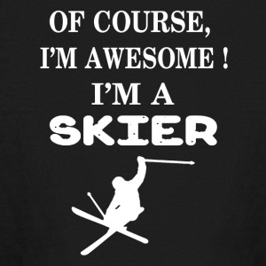 I'm A Skier Shirts - Kids' Long Sleeve T-Shirt