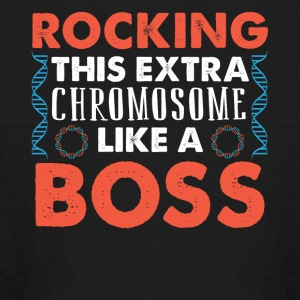 ROCKING THIS EXTRA CHROMOSOME LIKE A BOSS - Kids' Long Sleeve T-Shirt