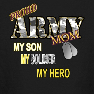 Proud Army Mom - Kids' Long Sleeve T-Shirt