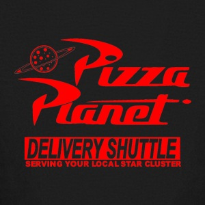 Toy Story Pizza Planet Logo - Kids' Long Sleeve T-Shirt