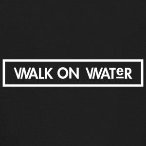 Walk on Water (Small Logo) - Kids' Long Sleeve T-Shirt