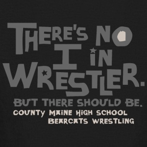 COUNTY MAINE HIGH SCHOOL BEARCATS WRESTLING - Kids' Long Sleeve T-Shirt