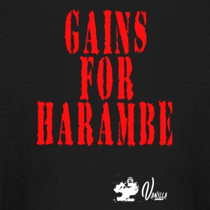 Gains for Harambe - Kids' Long Sleeve T-Shirt