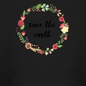 Earth Day T-Shirt - Kids' Long Sleeve T-Shirt