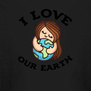Earth day 2017 I love our earth - Kids' Long Sleeve T-Shirt