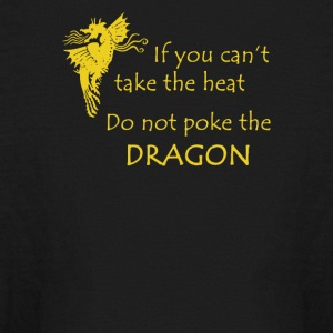 Don t Poke the Dragon - Kids' Long Sleeve T-Shirt