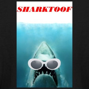 SHARKTOOF SHARK WITH CLOUT - Kids' Long Sleeve T-Shirt