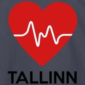 Heart Tallinn - Kids' Long Sleeve T-Shirt