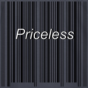 priceless barcode - Kids' Long Sleeve T-Shirt