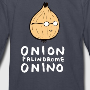 ONION PALINDROME ONINO - Kids' Long Sleeve T-Shirt