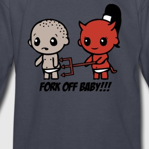 fork off baby - Kids' Long Sleeve T-Shirt