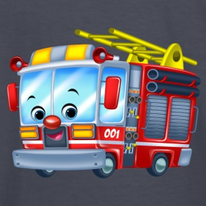 Firetruck Arthur Collection - Kids' Long Sleeve T-Shirt