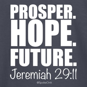 Prosper Hope Future - Kids' Long Sleeve T-Shirt