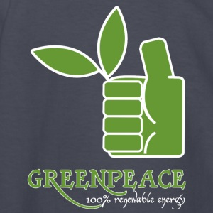 Greenpeace 100 renewable energy - Kids' Long Sleeve T-Shirt