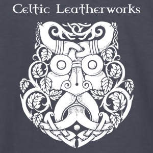 Green Man by Celtic Leatherworks - Kids' Long Sleeve T-Shirt