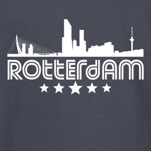 Retro Rotterdam Skyline - Kids' Long Sleeve T-Shirt