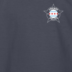 Chicago Police T Shirt - Chicago Flag - Kids' Long Sleeve T-Shirt