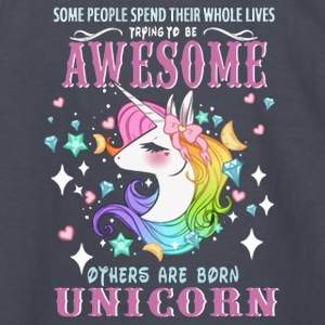 Awesome others are born unicorn shirt - Kids' Long Sleeve T-Shirt