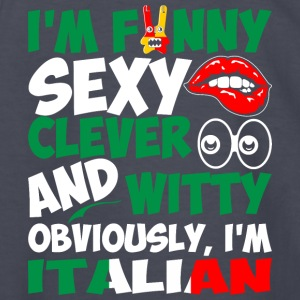 Im Funny Sexy Clever And Witty Im Italian - Kids' Long Sleeve T-Shirt