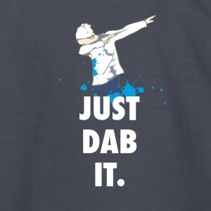 dab just dabbing football touchdown mooving dance - Kids' Long Sleeve T-Shirt