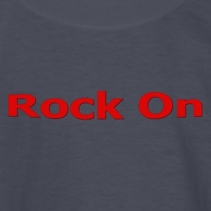 Rock On RED - Kids' Long Sleeve T-Shirt