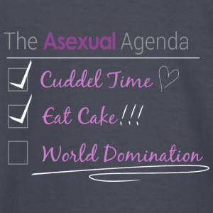 The Asexual Agenda - Kids' Long Sleeve T-Shirt