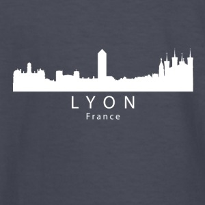 Lyon France Skyline - Kids' Long Sleeve T-Shirt