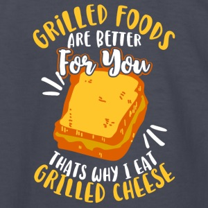 Grilled Foods are better for you - Kids' Long Sleeve T-Shirt