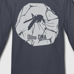 Dino DNA Mosquito - Kids' Long Sleeve T-Shirt