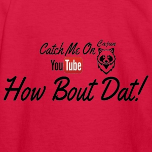 Catch ME OUTSIDE CajunCoon - Kids' Long Sleeve T-Shirt