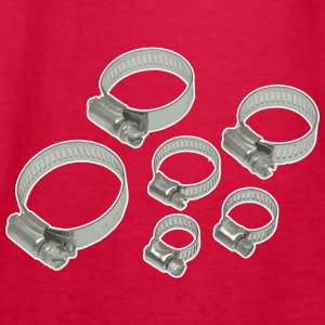 HOSE CLAMPS - Kids' Long Sleeve T-Shirt