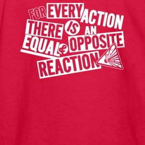 Equal Reaction - Kids' Long Sleeve T-Shirt