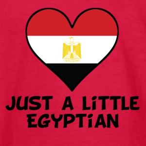 Just A Little Egyptian - Kids' Long Sleeve T-Shirt