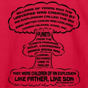 Hbomb Explosion: Like Father, Like Son - Kids' Long Sleeve T-Shirt