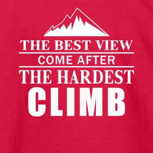 Love Mountains Climbing Shirt - Kids' Long Sleeve T-Shirt
