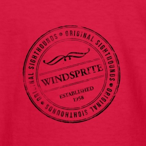 Windsprite Rubber-Stamp - Kids' Long Sleeve T-Shirt