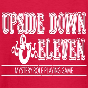 Upside Down and Eleven - Kids' Long Sleeve T-Shirt