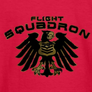 FLIGHT SQUADRON - Kids' Long Sleeve T-Shirt