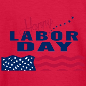 Happy Labor Day - Kids' Long Sleeve T-Shirt