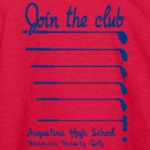 Join The Club Augustine High School Warriors Varsi - Kids' Long Sleeve T-Shirt