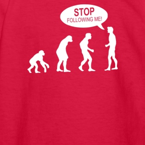 Banksy Funny Human Evolution Indie - Kids' Long Sleeve T-Shirt