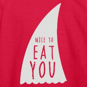 Nice To Eat You - Kids' Long Sleeve T-Shirt