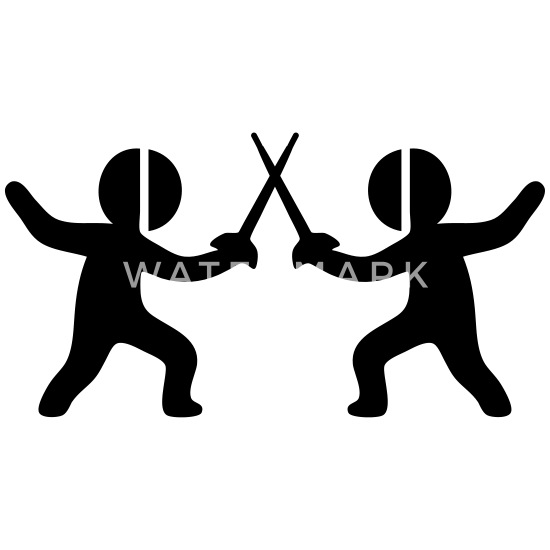 Fencing (Sword Fighting Sport) Kids' T-Shirt | Spreadshirt