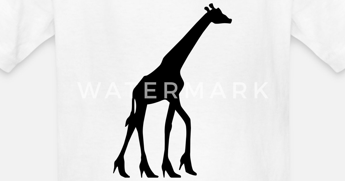3ae6cc9f45 Giraffe In High Heels Kids T Shirt Sprehirt. Carvela Kurt Geiger Giraffe  High Heel Sandals In Black Lyst