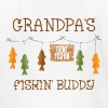 Gone Fishing Line Grandpa - Kids' T-Shirt